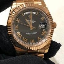 Rolex Day-Date II nuevo Automático Reloj con estuche y documentos originales 218235