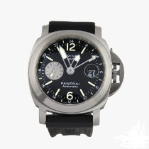 Panerai PAM 00297 Steel 2008 Luminor GMT Automatic 44mm pre-owned