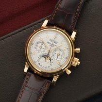 Patek Philippe Yellow gold Manual winding 37mmmm new Perpetual Calendar Chronograph