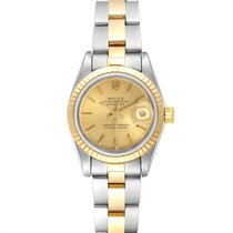 Rolex Lady-Datejust Acero 26mm Champán