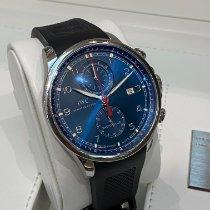 IWC Portuguese Yacht Club Chronograph Acier Bleu France, Paris