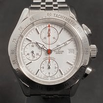 Tudor Chronautic Steel 41mm White No numerals