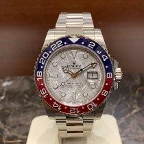 Rolex GMT-Master II White gold 40mm Silver No numerals