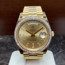 Rolex 228398TBR Yellow gold 2020 Day-Date 40 40mm new
