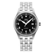 IWC Cеребро Автоподзавод Черный 36mm новые Pilot's Watch Automatic 36