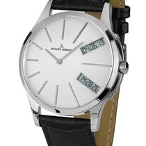 Jacques Lemans Classic London Acero 47mm Blanco