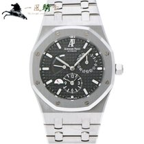 Audemars Piguet Royal Oak Dual Time Steel 39mm Black