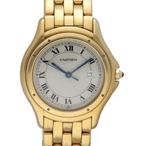 Cartier Cougar Yellow gold 34mm White United States of America, New York, New York