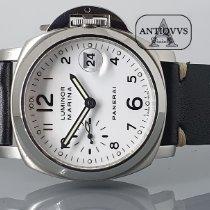 Panerai Luminor Marina Automatic Steel 40mm White Arabic numerals