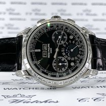 Patek Philippe Perpetual Calendar Chronograph Platine 41mm Noir