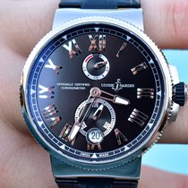 Ulysse Nardin Marine Chronometer Manufacture Steel 45mm Black United States of America, Texas, Plano