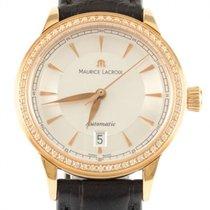 Maurice Lacroix Damenuhr Les Classiques 28mm Automatik gebraucht Uhr mit Original-Box und Original-Papieren 2017