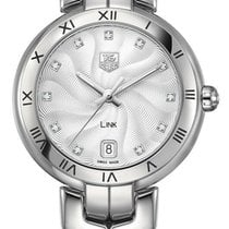 TAG Heuer Silver Quartz Silver 34.5mm new Link Lady