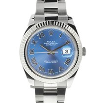 Rolex Datejust II Steel 41mm Blue No numerals United States of America, Florida, Boca Raton