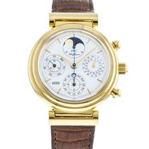 IWC Da Vinci Perpetual Calendar IW3750-03 Very good Yellow gold 39mm Automatic