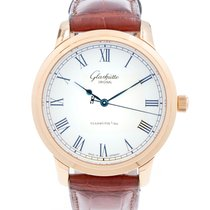 Glashütte Original Senator Automatic Rose gold 40mm Silver Roman numerals