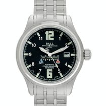 Ball Trainmaster new Automatic Watch with original box and original papers NM1056D-SAJ-BK