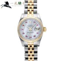 Rolex Lady-Datejust Stahl 26mm Weiß