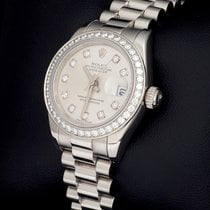 Rolex 179136 Platino 2002 Lady-Datejust 26mm usados
