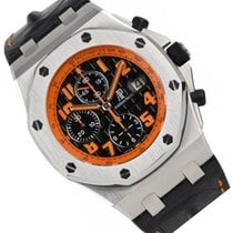 Audemars Piguet Royal Oak Offshore Chronograph Volcano Steel 42mm Orange Arabic numerals United States of America, Florida, North Miami Beach