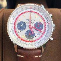 Breitling Navitimer 1 B01 Chronograph 43 Acero 43mm Plata Sin cifras