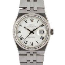 Rolex Datejust Oysterquartz Stahl 36mm Weiß Römisch