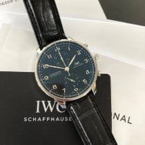 IWC Portugieser Chronograph neu 2020 Automatik Chronograph Uhr mit Original-Box und Original-Papieren IW371609