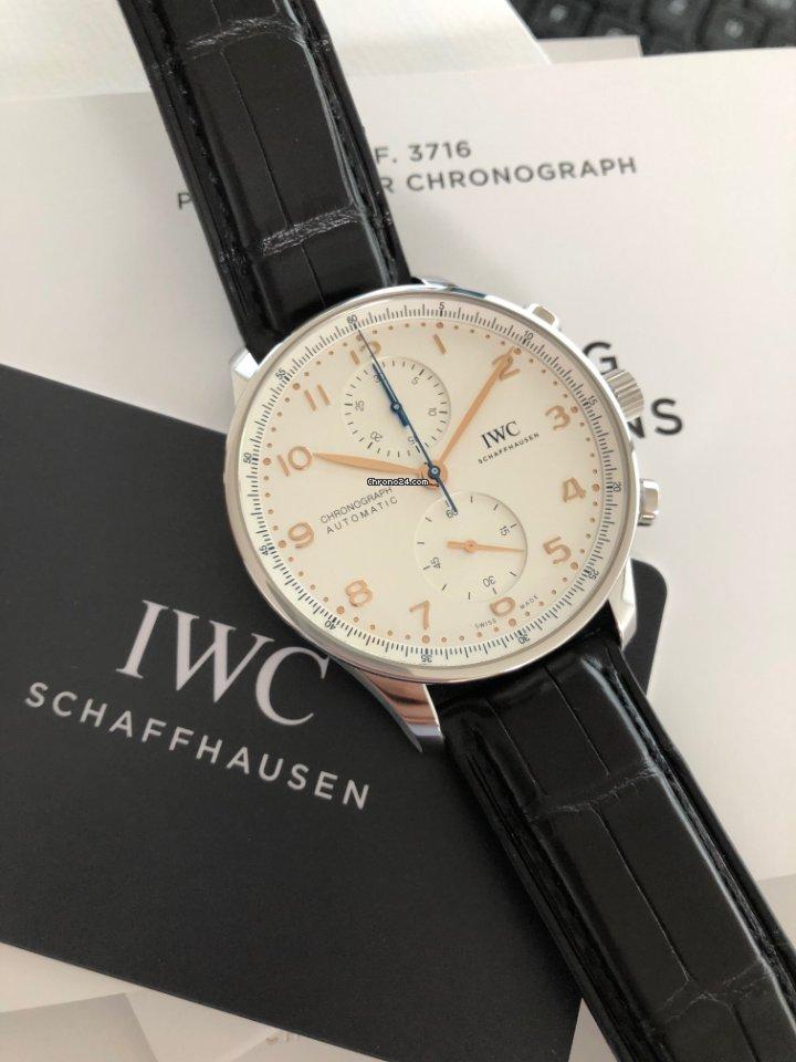 IWC Portugieser Chronograph IW371604 2021 neu