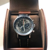 Breitling Navitimer 01 occasion 46mm Gris Cuir