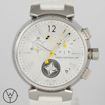 Louis Vuitton Staal 34mm Quartz Q11BAO tweedehands
