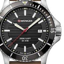 Wenger Sea Force Steel 43mm Black
