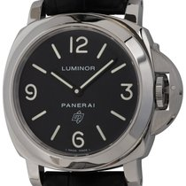 Panerai Luminor Base Logo Acero 44mm Negro