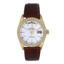 Rolex Day-Date 36 Желтое золото 36mm Белый Без цифр