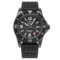 Breitling Steel Automatic Black 46mm new Superocean