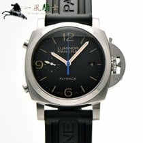Panerai Luminor 1950 3 Days Chrono Flyback PAM00524 Хорошее Сталь 44mm Автоподзавод