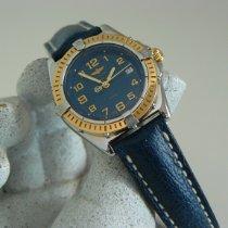 Breitling Wings Lady Acero y oro 31mm Azul Arábigos