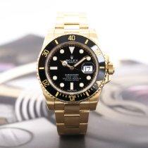 Rolex Submariner Date 劳力士 116618 Очень хорошее Желтое золото 40mm Автоподзавод