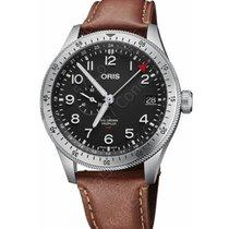 Oris Big Crown ProPilot GMT Acier 44mm Noir Arabes