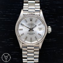 Rolex Witgoud Automatisch 26mm tweedehands Oyster Perpetual Lady Date