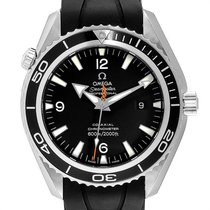 Omega Seamaster Planet Ocean Acero 45.5mm Negro