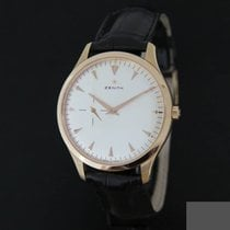 Zenith Elite Ultra Thin Oro rosa 40mm Blanco