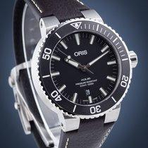 Oris 01 733 7730 4124-07 5 24 10EB Steel Aquis Date 43.5mm new