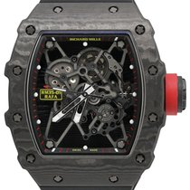 Richard Mille RM 035 Carbon 49.94mm Proziran Bez brojeva