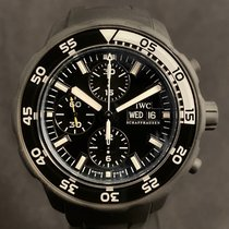 IWC Aquatimer Chronograph Stål 45.6mm Svart Ingen tall