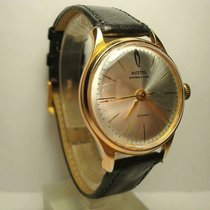 Vostok Gold/Steel 34mm Manual winding pre-owned
