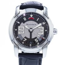 Blancpain L-Evolution pre-owned 43.5mm Grey Date Leather