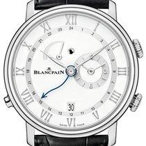 Blancpain Villeret neu 2021 Handaufzug Uhr mit Original-Box und Original-Papieren 6640-1127-55B