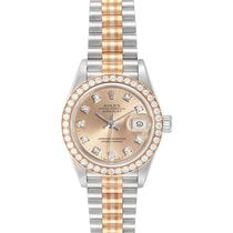 Rolex Lady-Datejust Witgoud 26mm Brons