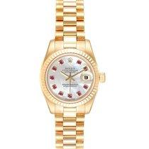 Rolex 179178 Or jaune 2001 Lady-Datejust 26mm occasion