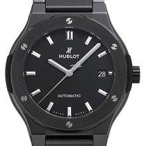 Hublot Classic Fusion 45, 42, 38, 33 mm Cerámica 45mm Negro Sin cifras
